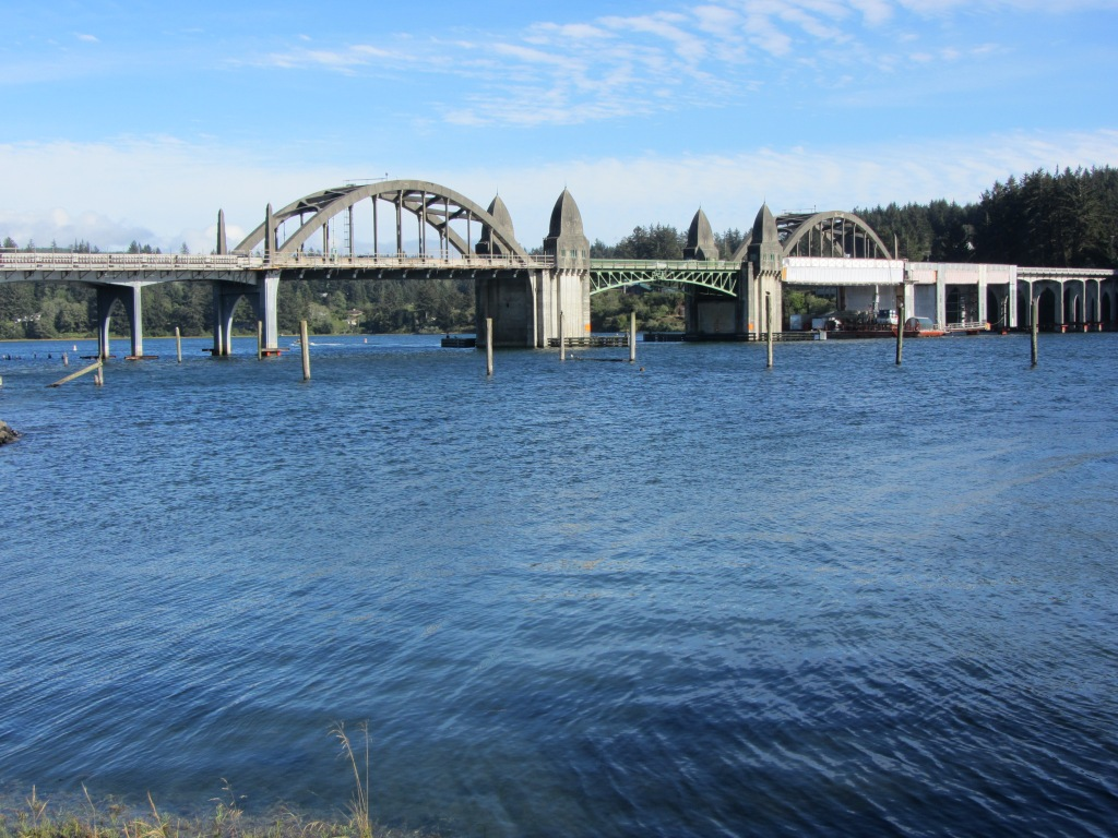 Suislaw River Bridge Florence OR 1